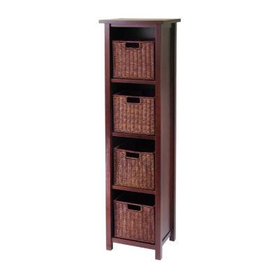 Winsome Milan 5pc Storage Shelf Set