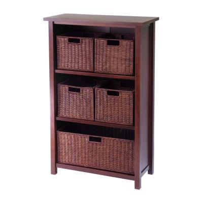 Winsome Milan 6-Pc Shelf Set