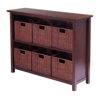 Winsome Milan 7pc Storage Shelf Set