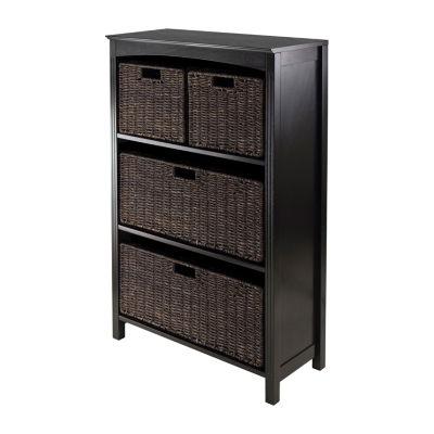 Winsome Terrace 5pc Storage 4-Tier Shelf Set