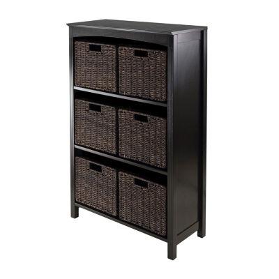 Winsome Terrace 7pc Storage 4-Tier Shelf Set