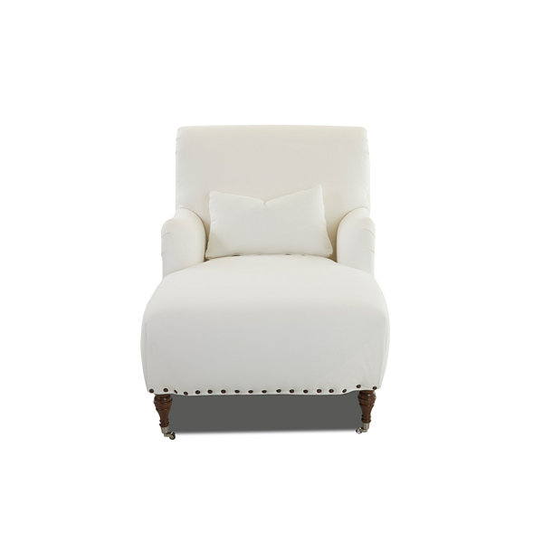 Dale Nailhead Trim Chaise Lounge