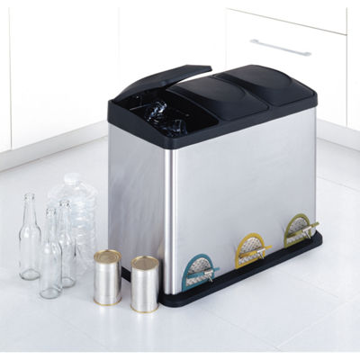 Neu Home Step-On Recycle Bin 45L