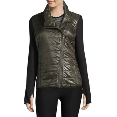 Xersion Knit Midweight Puffer Jacket