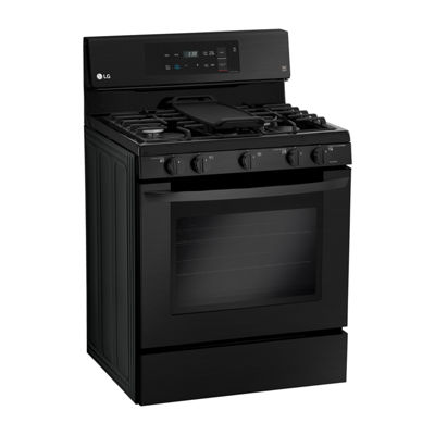 LG 5.4 cu. ft. Capacity Gas Single Oven Range with EvenJet™ Fan Convection and EasyClean® Technology
