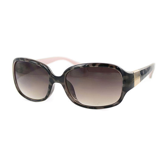 Glance Womens Full Frame Wrap Around Uv Protection Sunglasses