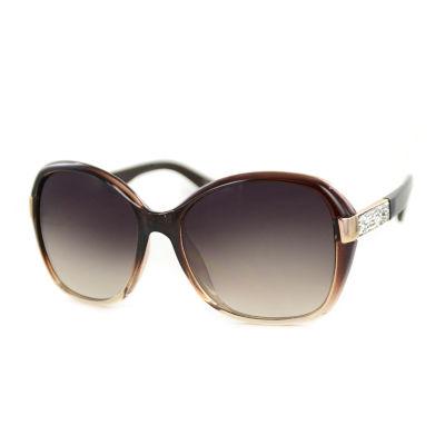 Glance Womens Full Frame Square UV Protection Sunglasses