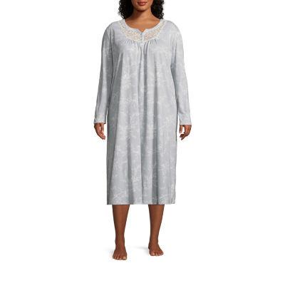 Adonna Knit Nightgown-Plus