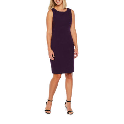 Black Label by Evan-Picone Sleeveless Fit & Flare Dress