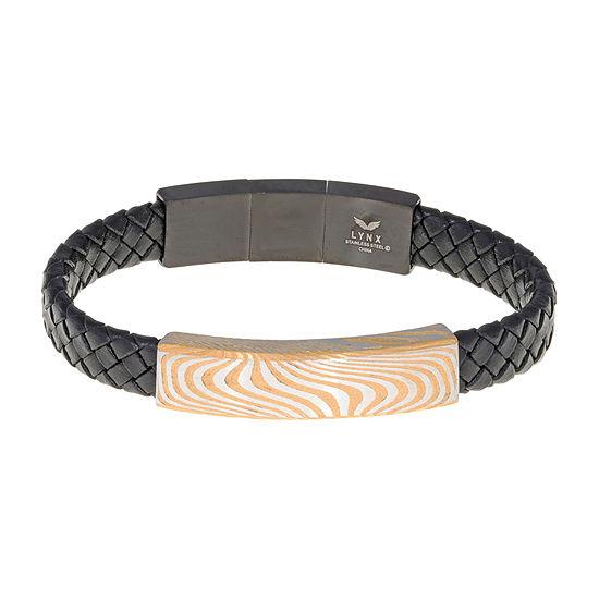 8 3/4 Inch Braid Id Bracelet