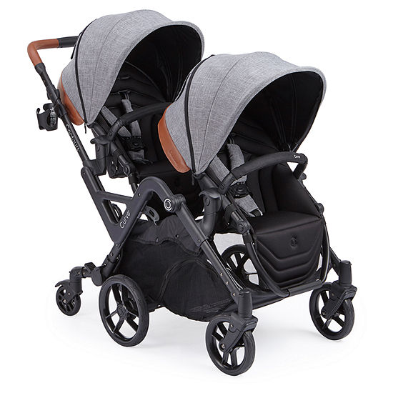 Kolcraft Contours Options Elite Tandem Stroller - Graphite Double Stroller