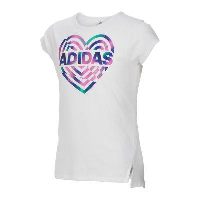 adidas Graphic T-Shirt-Toddler Girls