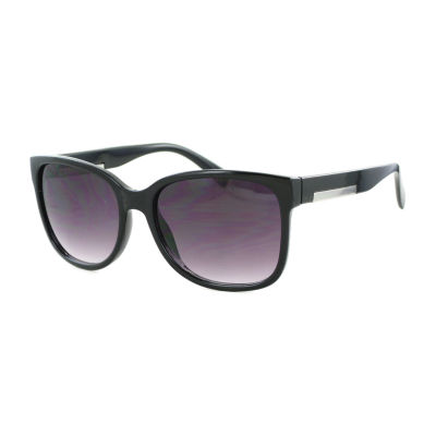 Glance Womens Full Frame Round UV Protection Sunglasses