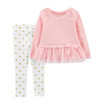 Carter's 2-pc. Layette Set-Toddler Girls