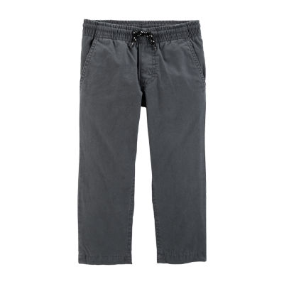 Carter's Boys Mid Rise Straight Pull-On Pants - Toddler