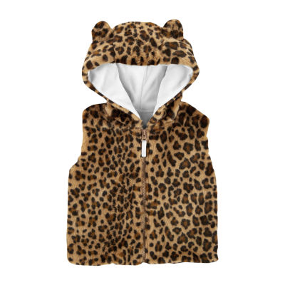 Carter's Faux Fur Vest-Toddler Girls
