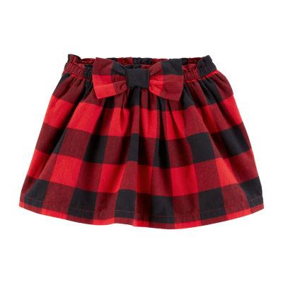 Carter's Buffalo Check Skirt - Toddler Girls