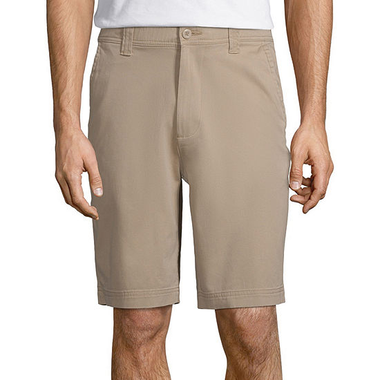 St. John's Bay Men's Stretch Chino Shorts