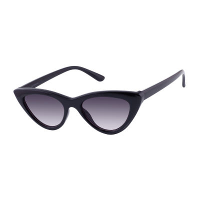 Liz Claiborne Womens Full Frame Cat Eye UV Protection Sunglasses