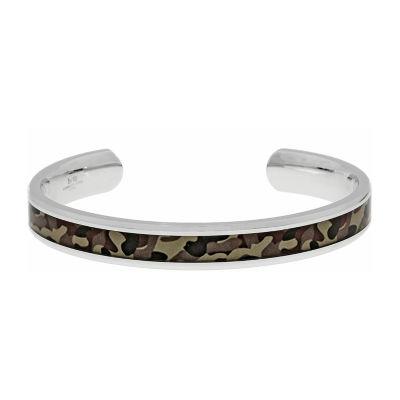 Mens Cuff Bracelet Stainless Steel
