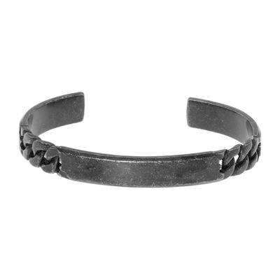 Mens Cuff Bracelet Stainless Steel