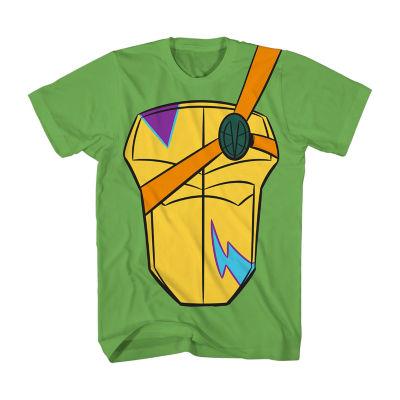 Boys Crew Neck Short Sleeve Teenage Mutant Ninja Turtles Graphic T-Shirt Preschool / Big Kid