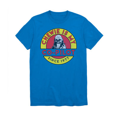 Chewie Is My Co-Pilot Graphic Tee