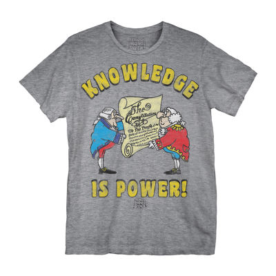 Knowledge Is Power Graphic Tee