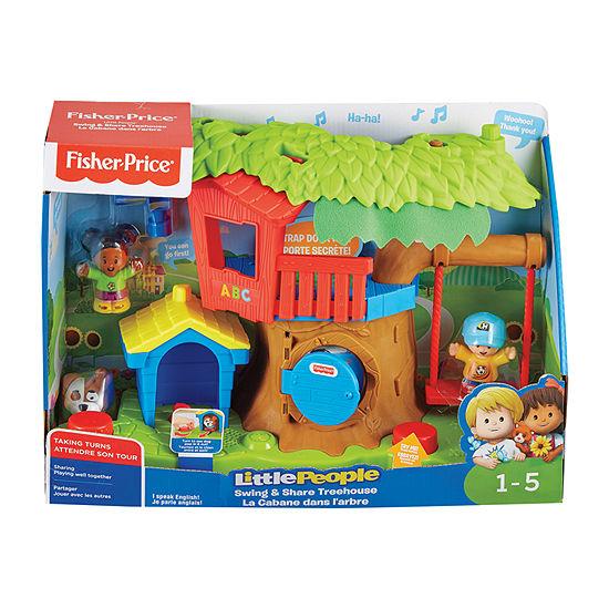 Little People Swing & Share Treehouse