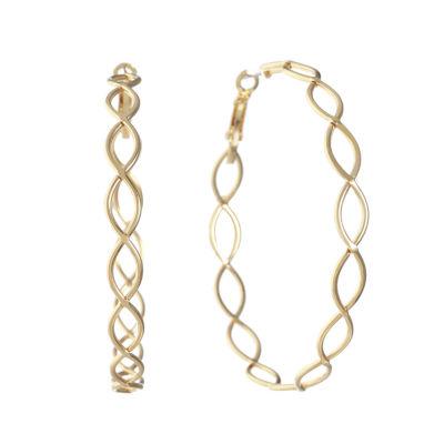 Gloria Vanderbilt 58.6mm Hoop Earrings