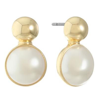Gloria Vanderbilt 18.8mm Stud Earrings