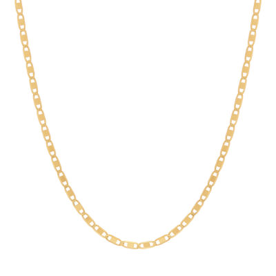 Made in Italy 14K Gold 18 Inch Solid Chain Necklace