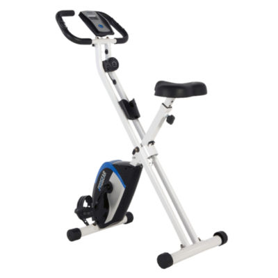PROGEAR 225 Foldable Magnetic Upright Bike with Heart Pulse