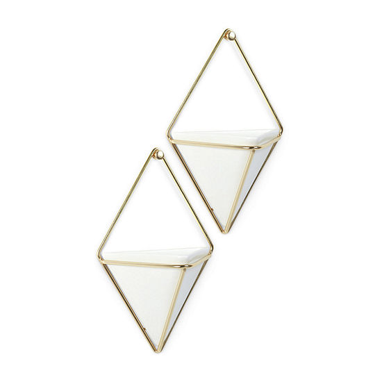Umbra Set of 2 Small Trigg Wall Decor