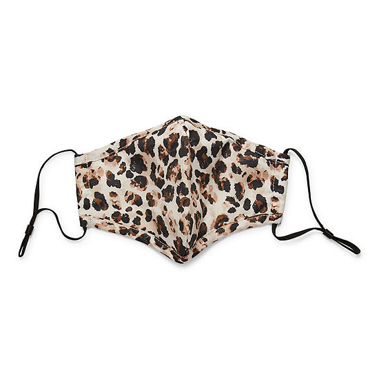 Land Of Liberty Leopard Unisex Adult Face Mask