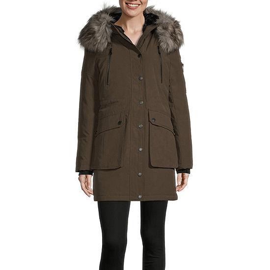 BCBGMAXAZRIA Hooded Heavyweight Puffer Jacket