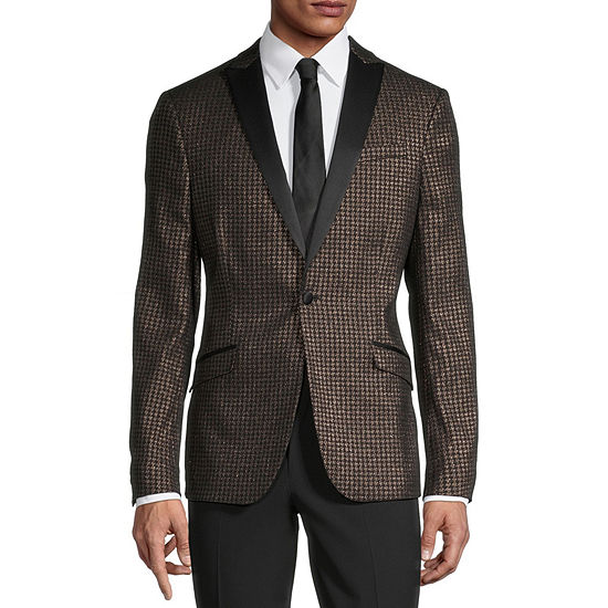 JF J.Ferrar Evening Edition Mens Stretch Super Slim Fit Sport Coat