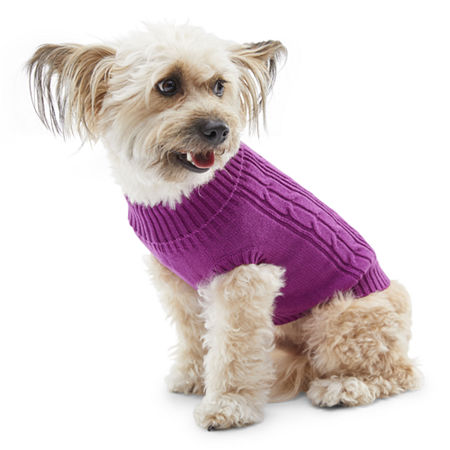 St. John's Bark Dog Sweater, L-dog , Pink