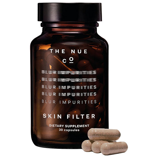The Nue Co. Skin Filter Vitamin A and Zinc Blemish + Brightening Supplement