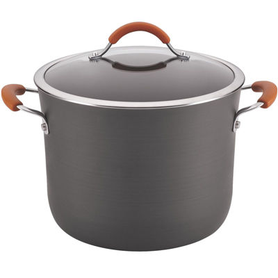 Rachael Ray® Cucina 10-qt. Hard-Anodized Covered Stock Pot