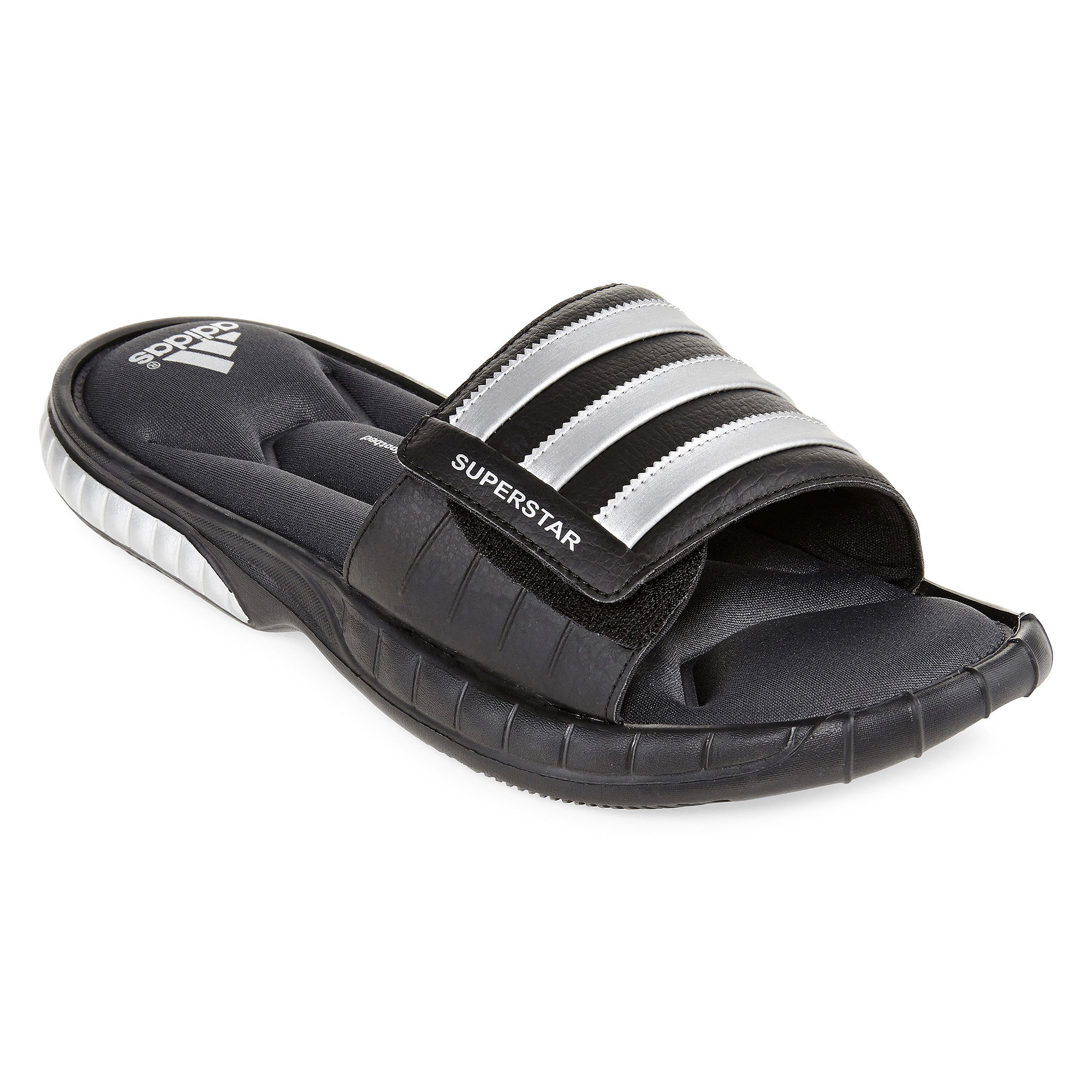 e210df4a42d20 UPC 886037162429. ZOOM. UPC 886037162429 has following Product Name  Variations  Adidas Superstar 3g Slide Men Us 10 Black Flip Flop Sandal ...