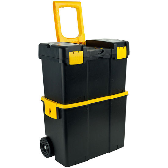 Stalwart™ Stackable Mobile Tool Box