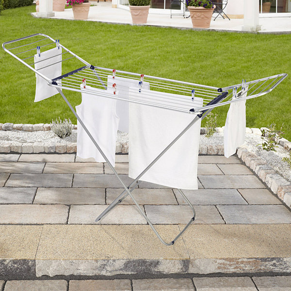 Leifheit Siena 180 Lightweight Winged Clothes Drying Rack