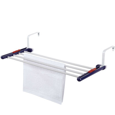 Leifheit 4-Rod Over-the-Door Clothes Drying Rack