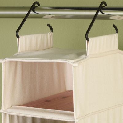 Household Essentials® Hanging Canvas Shoe Organizer