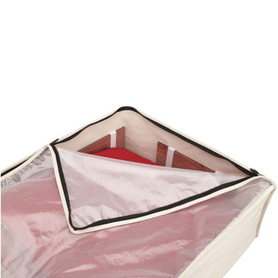 Household Essentials® Zippered Canvas Blanket Storage Bag