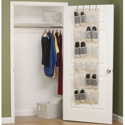 Household Essentials® Over-the-Door Canvas Shoe Organizer