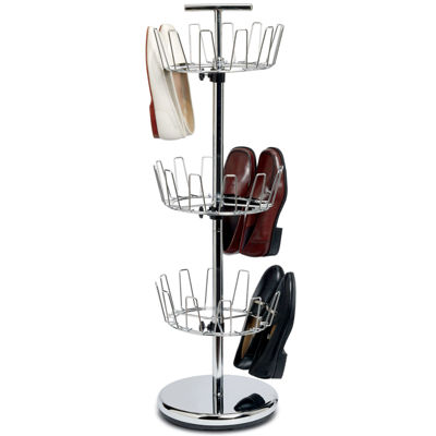 Household Essentials® 3-Tier Revolving Shoe Tree