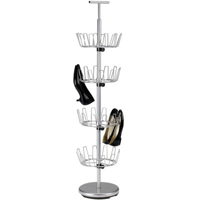 Household Essentials® 4-Tier Revolving Shoe Tree