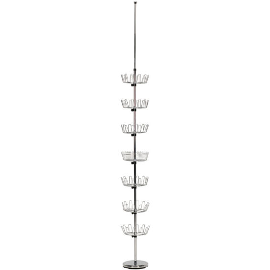 Household Essentials® Floor to Ceiling Revolving Shoe Tree